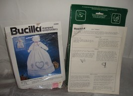 Bucilla Stamped Embroidery Guardian Angel 33269 Toy Makers 48989 Christmas - $11.83