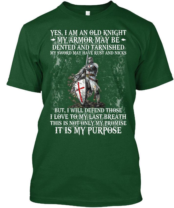 Knight It Is My Purpose Hanes Tagless Tee T-Shirt