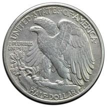 1918S Walking Liberty Half Dollar 90% Silver Coin Lot# A652 image 2