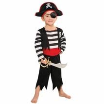 Rascal Pirate Buccaneer Costume Child Boys 4 - 6 Small - $21.20