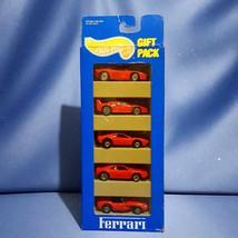 Hot Wheels Ferrari 5 Car Gift Pack by Mattel. - $65.00