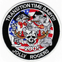 US Navy VF-103 Patch Transition Time Baby 2005 NEW!!! - $11.87