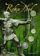 (DM 225) Robin Hood Replica Coin Set - $25.00