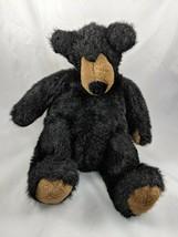 "Manhattan Toy Black Bear Plush 12"" 1994 #2 Stuffed Animal toy - $11.95"