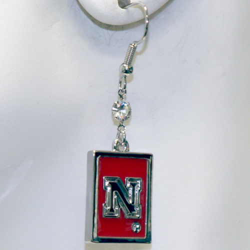 Nebraska Cornhuskers Earrings