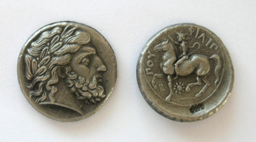 (DD-G 076) Tetradrachm of Phillip II Copy