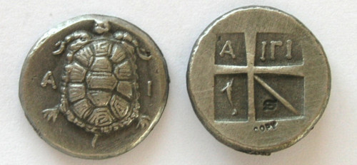 Primary image for (DD-G 078) Drachm of Aigna Copy