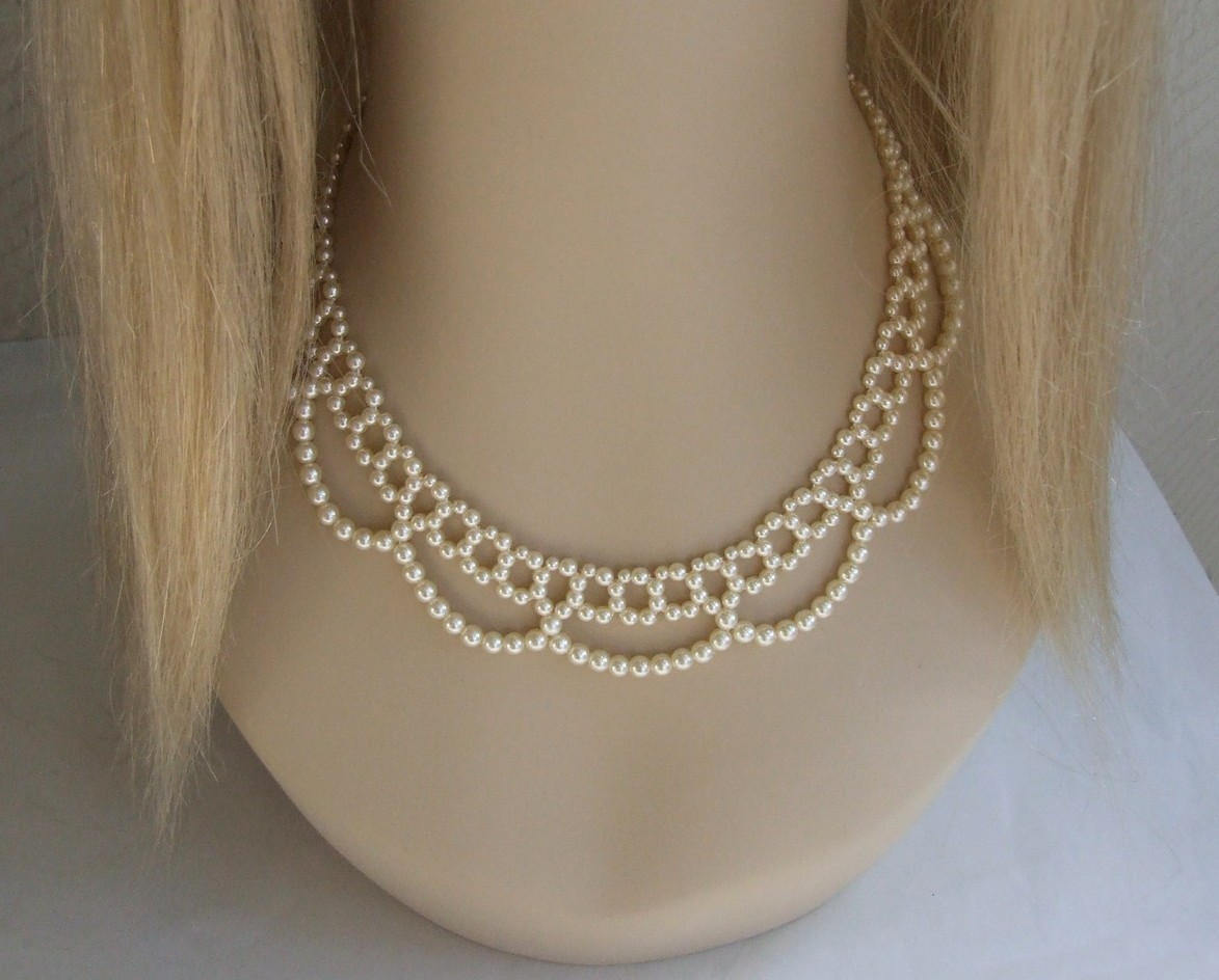 Primary image for Romantic Pearl Bead Necklace