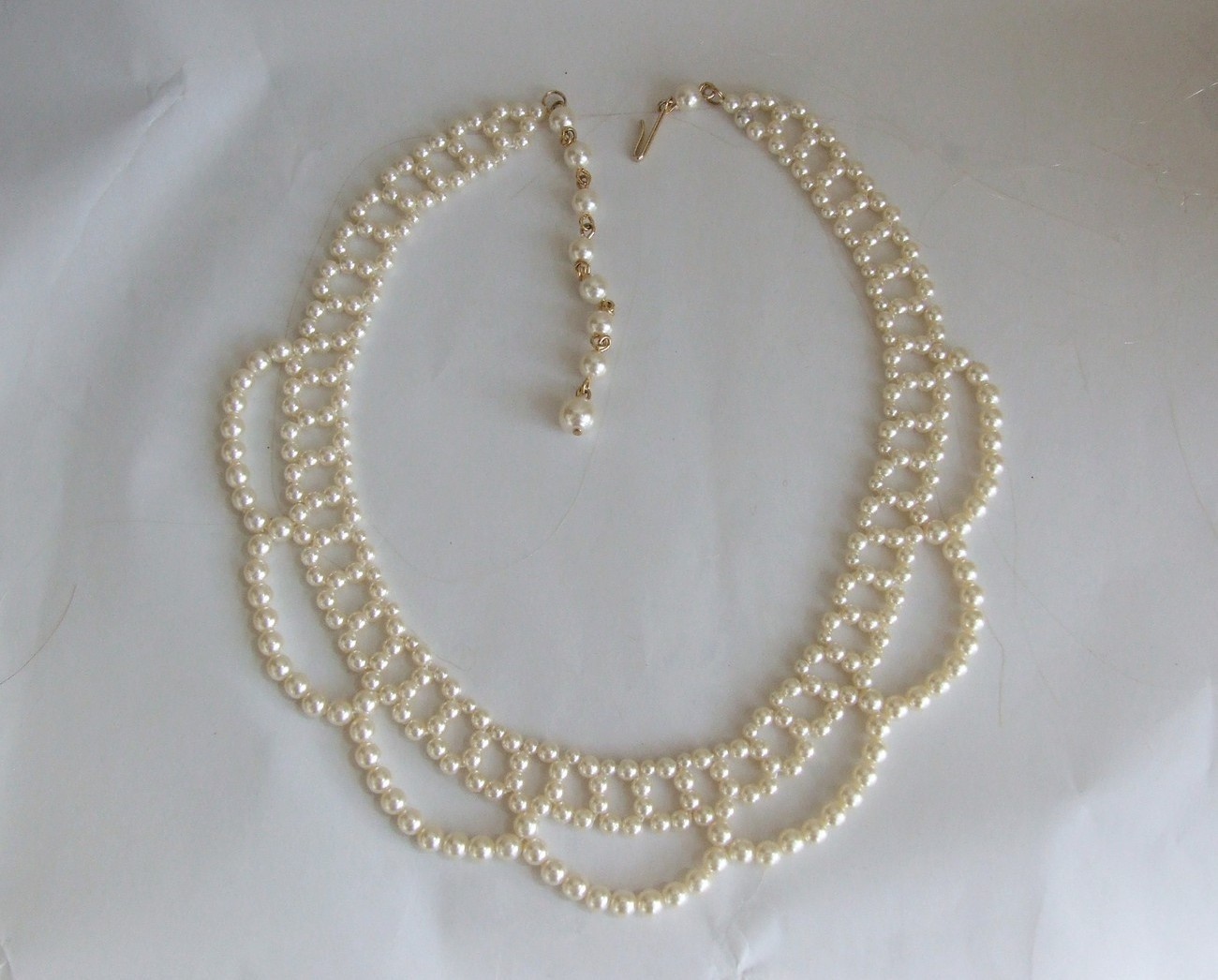 Romantic Pearl Bead Necklace