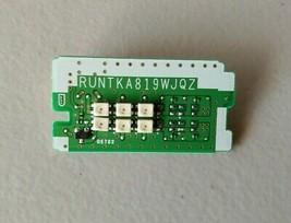 SHARP LC-60LE835U PCB Emitter & IR Board RUNTKA819WJQZ - $14.03