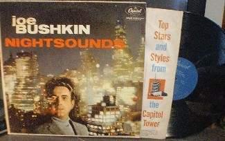 Joe Bushkin - Nightsounds - Capitol T 983 - Jazz