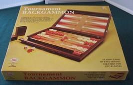 Tournament Backgammon E.S. Lowe 1973 Complete VGC - $9.75