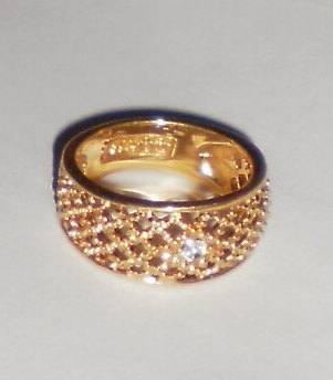Avon Vintage 1978 Lattice Lace Ring