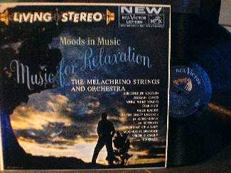 The Melachrino Strings and Orchestra - Moods in Music MUSIC - RCA LSP 1001