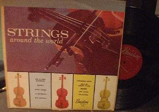 Strings Around the World - Broadway Records 1015
