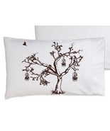 Brown Oak Tree Bird Cage Pillowcase - $11.99