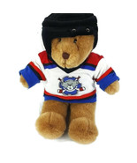 """Build a Bear Plush Hockey Player Teddy Bear with Outfit Jersey Brown 15"""" - $28.71"""