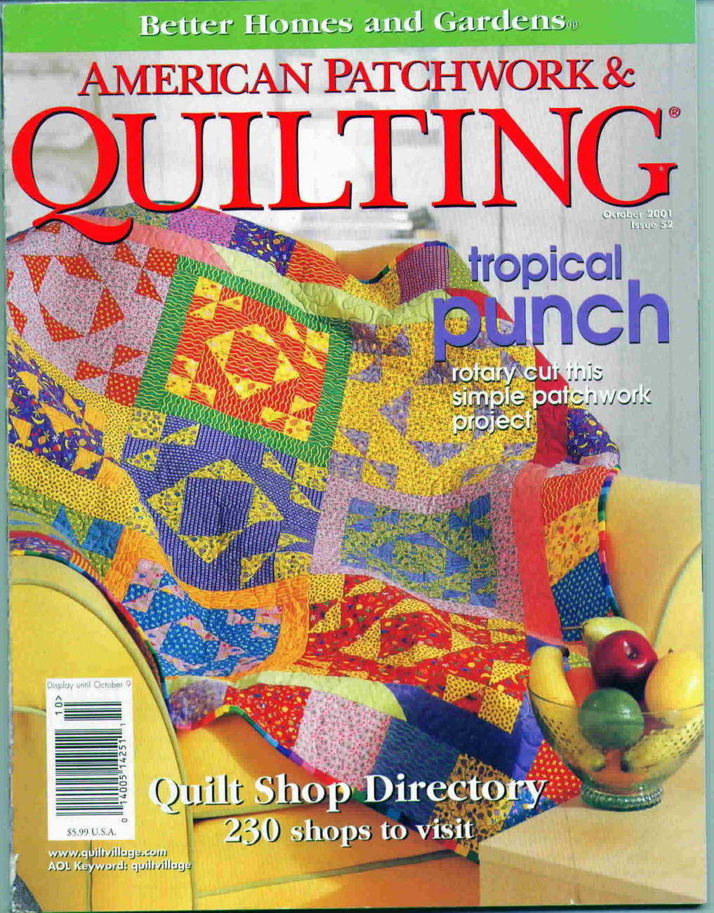 American patchwork and quilting bh g