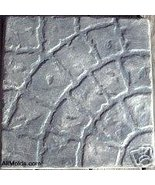Curved Cobblestone concrete cement stepping sto... - $26.95
