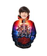 Stranger Things Kid 3D Hoodie Sep Series Pullover Sweatshirt Pattern B - $19.99