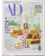 Architectural Digest July/August 2018 Hello, Summer - Mandy Moore in Cal... - $29.69