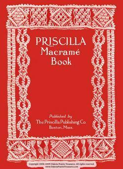 1913 Macrame Book Patterns Designs Instruction Gibson Girl Titanic Era Make Lace