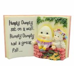 Dreamsicles figurine sculpture angel cherub signed Kristin Humpty Dumpty... - $28.91