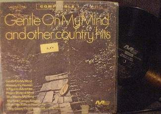 Gentle on My Mind and Other Country Hits - Modern Sound MS 609