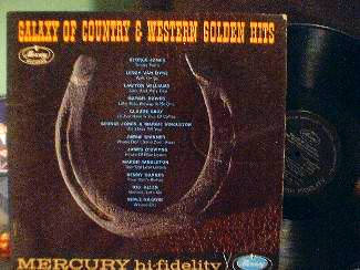 Galaxy of Country & Western Golden Hits - Mercury Records MGD 12