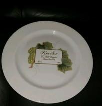 "New WEDGWOOD Grand Gourmet Bone China Kistler Wine Accent/ Dinner Plate 10""  - $13.85"