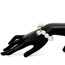 Ingemark Korean Sweet Imitation Pearl Bracelet Women Wedding 2018 New Lo... - $14.28