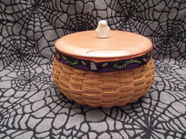 Longaberger Baskets 2004 Hostess Large Happy Halloween Basket Combo - $165.00