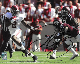Derrick Henry signed Alabama Crimson Tide 16X20 Photo #2 (hand up Heisma... - $94.95