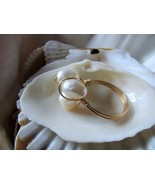 Pearl Rings 14k Solid Gold Wire Rings 4.1 grams - $98.00