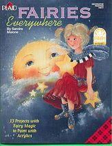 Fairies Everywhere Folk Art~ Sandra Malone - $8.00