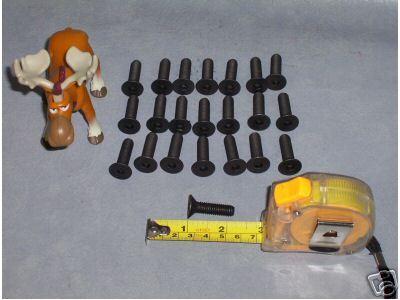 22 Socket Flat Head Screws ID 5mm OD 7mm 30mm Long _C30