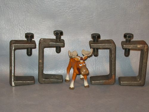 "3"" Beam Clamps Lot of 4"