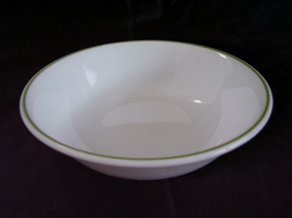 Corelle White Green Band Fruit Bowl - $4.00