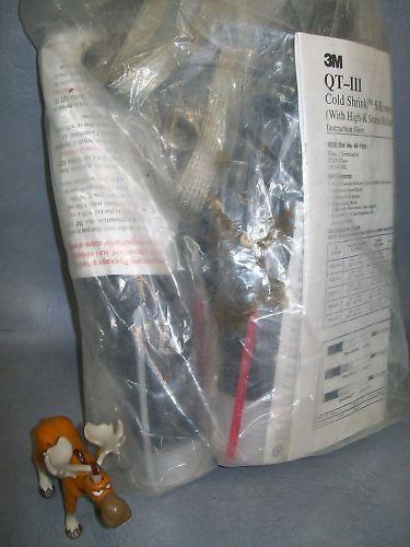 3M Splice Kit Cold Shrink QT-III Termination 1/C 5KV