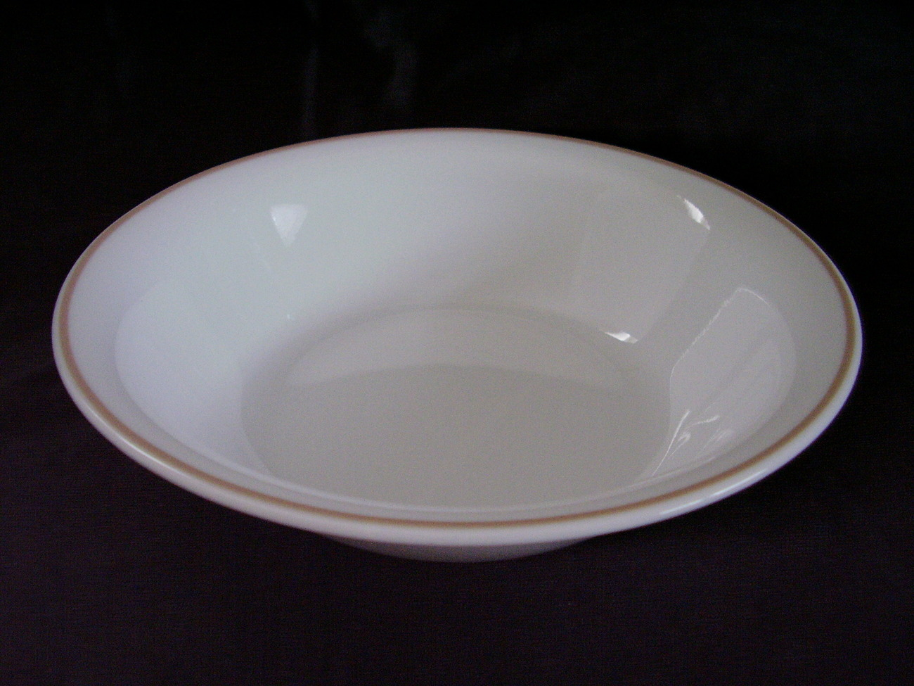 Corelle Indian Summer Soup Cereal Bowl Dish Brown Band