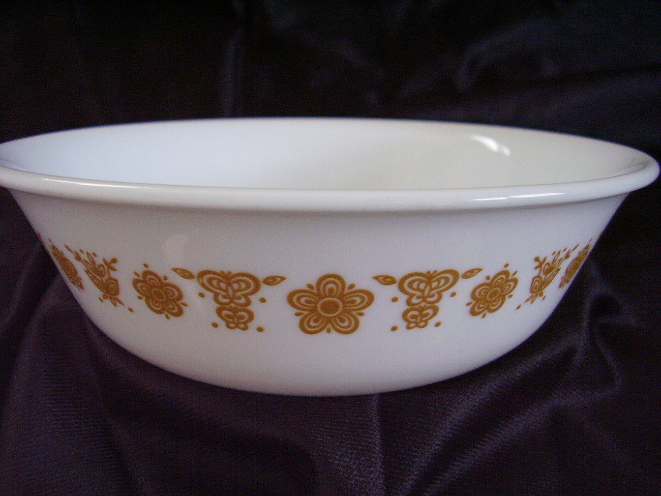 Corelle Butterfly Gold Soup Cereal Bowl