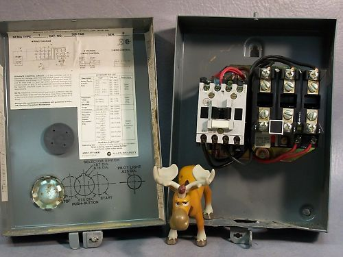 Allen Bradley Starter NEMA Size 00  509-T0B