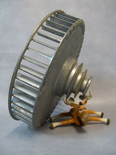 Squirrel Cage Fan Blades : Aluminum squirrel cage fan blade multi speed pulley