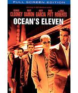 Oceans Eleven (DVD, 2002, Full Frame Edition) - $3.48