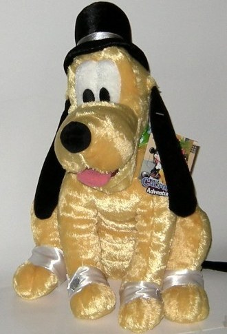 1/2 Price! Disney Hollywood Pluto Dog Large Plush New