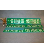 Brady Co. 37114   LOW PRESS. AIR Pipe  Markers Lot of 5 - $35.17