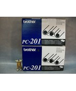 Brother OEM  PC-201 Print Cartridge Lot of 2 - $29.99