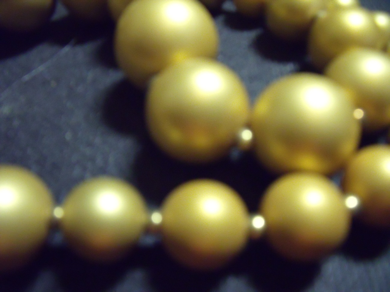 Golden Beads Necklace from Shalimar