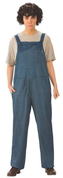 Rubies Stranger Things Elevens Overalls Adult Womens Halloween Costume 700041