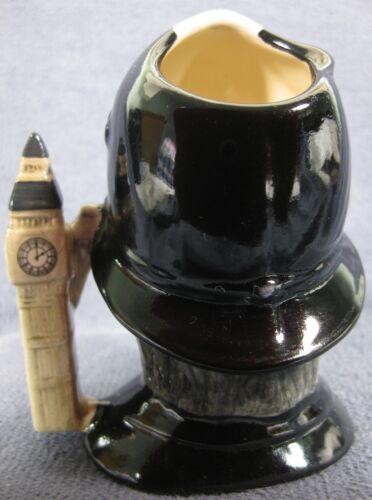"""The London Bobby D6762 Royal Doulton Character Toby Jug Small 4"""" 10cm Big Ben image 3"""